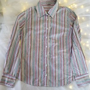 J crew casual button up size small